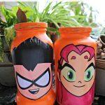 Mason Jar Piggy Bank Craft Inspired by Teen Titans GO Vs Teen Titans!
