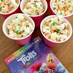 Rainbow Popcorn Mix Inspired by TROLLS World Tour!