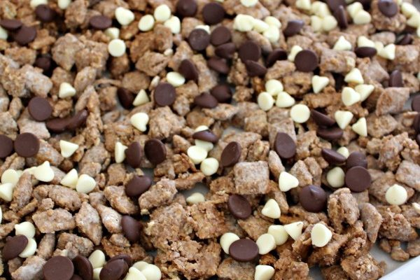 Triple Chocolate Puppy Chow Recipe Inspired by Scooby Snacks!