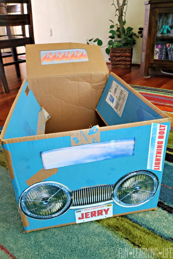 Cardboard Box Car Craft