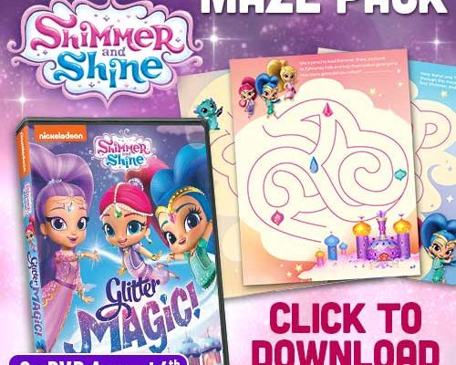 Shimmer and Shine Blaze and the Monster Machines Printable Activity Packs!