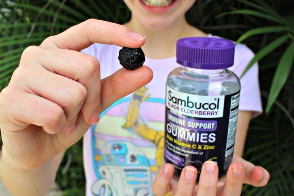 Sambucol Black Elderberry Gummies With Natural Immune Support!