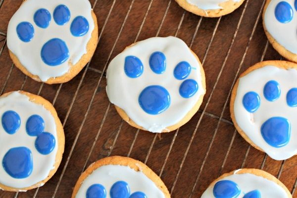 Paw Cookies and Blue's Clues & You! Caring with Blue DVD!