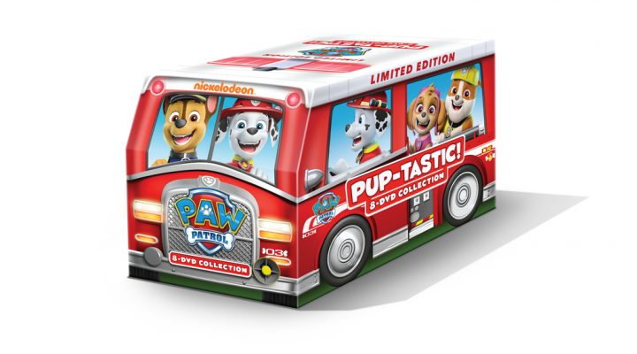 PAW Patrol PUP-tastic! 8-DVD Collection Gift Set! {Giveaway}