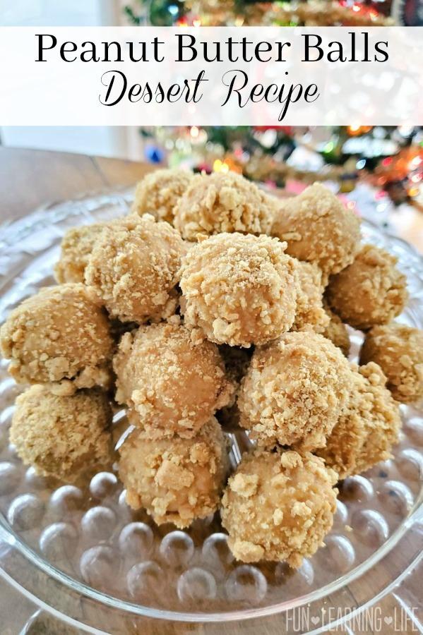 Peanut Butter Balls Dessert Recipe