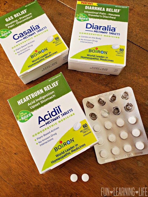 Boiron Acidil Meltaway Tablets