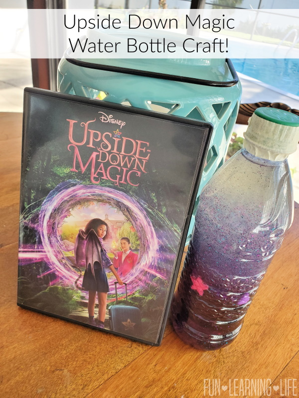 Upside Down Magic Water Bottle Craft