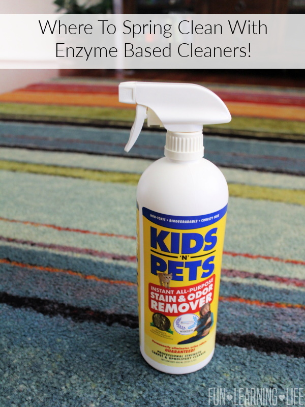 Where To Spring Clean With Enzyme Based Cleaners!
