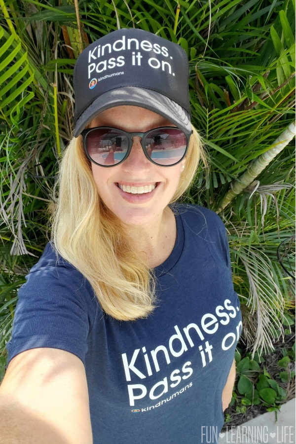 Kindness Pass It On T Shirt from Kindhumans
