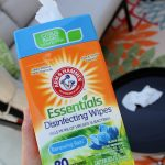 Arm & Hammer Essentials Disinfecting Wipes Clean and Smell Great! {Giveaway}