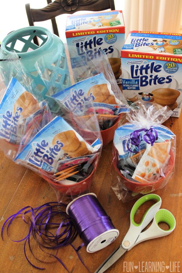 Mom Gift Baskets and Entenmann's Little Bites