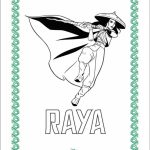 RAYA AND THE LAST DRAGON Coloring Pages!