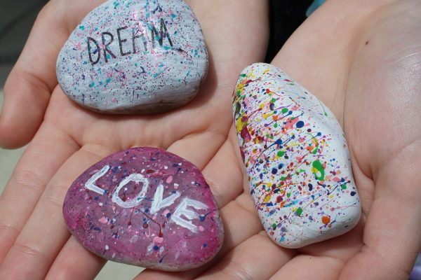 Create Your Own Rock Art Kit Review! {Giveaway}