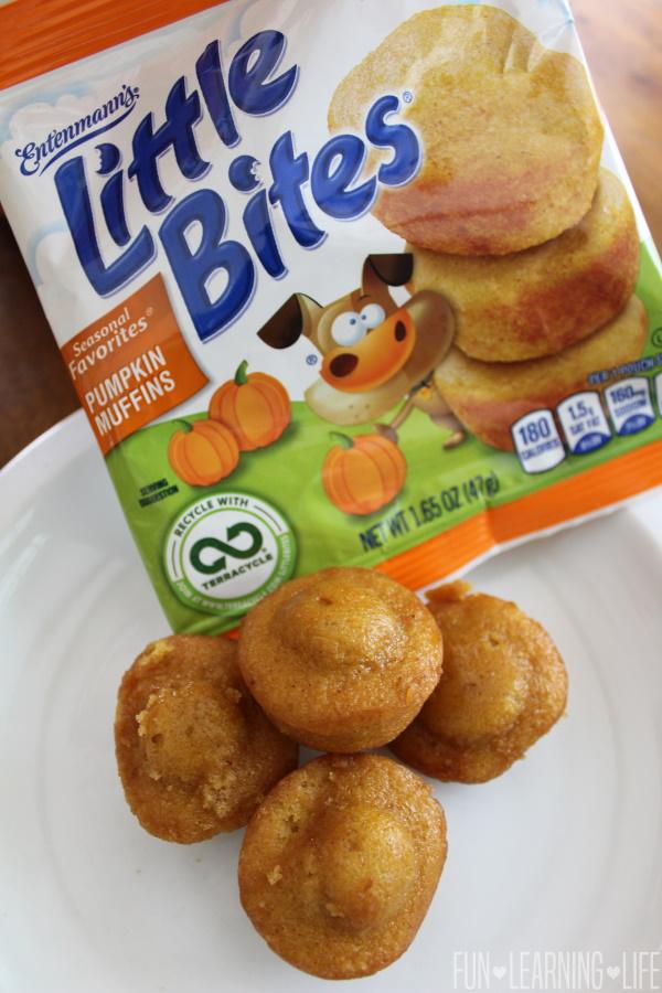 Little Bites Pumpkin Muffins Are YUMMY!
