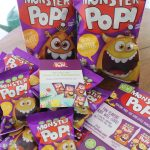 Monster Pop Popcorn Is Great For School Lunch Boxes!