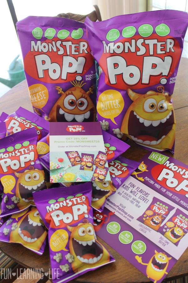 Monster Pop Popcorn Review