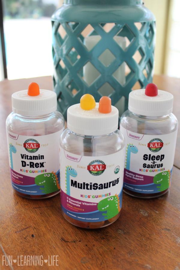 KAL Multisaurus Gummies, Vitamins My Kids Want!