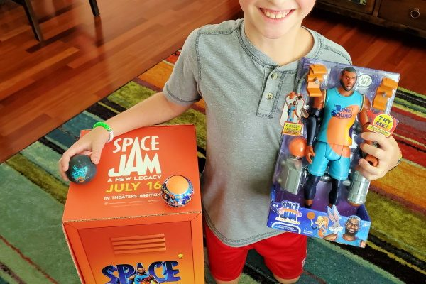 Space Jam Toys, Clothes, and Blu-ray! {Giveaway}